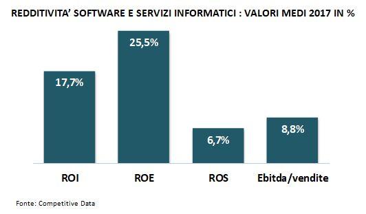redditività software e servizi it